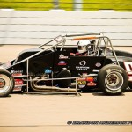 Justin Carver on the asphalt!