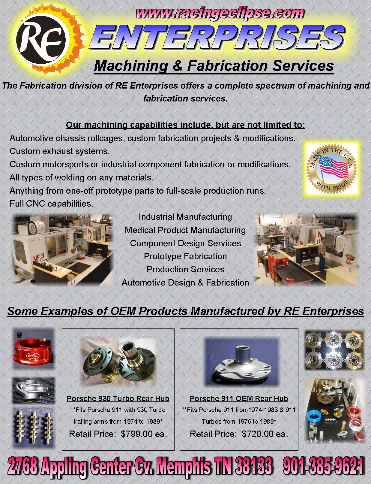 Catalog Rear Cover Inside- Fabrication & OEM Parts